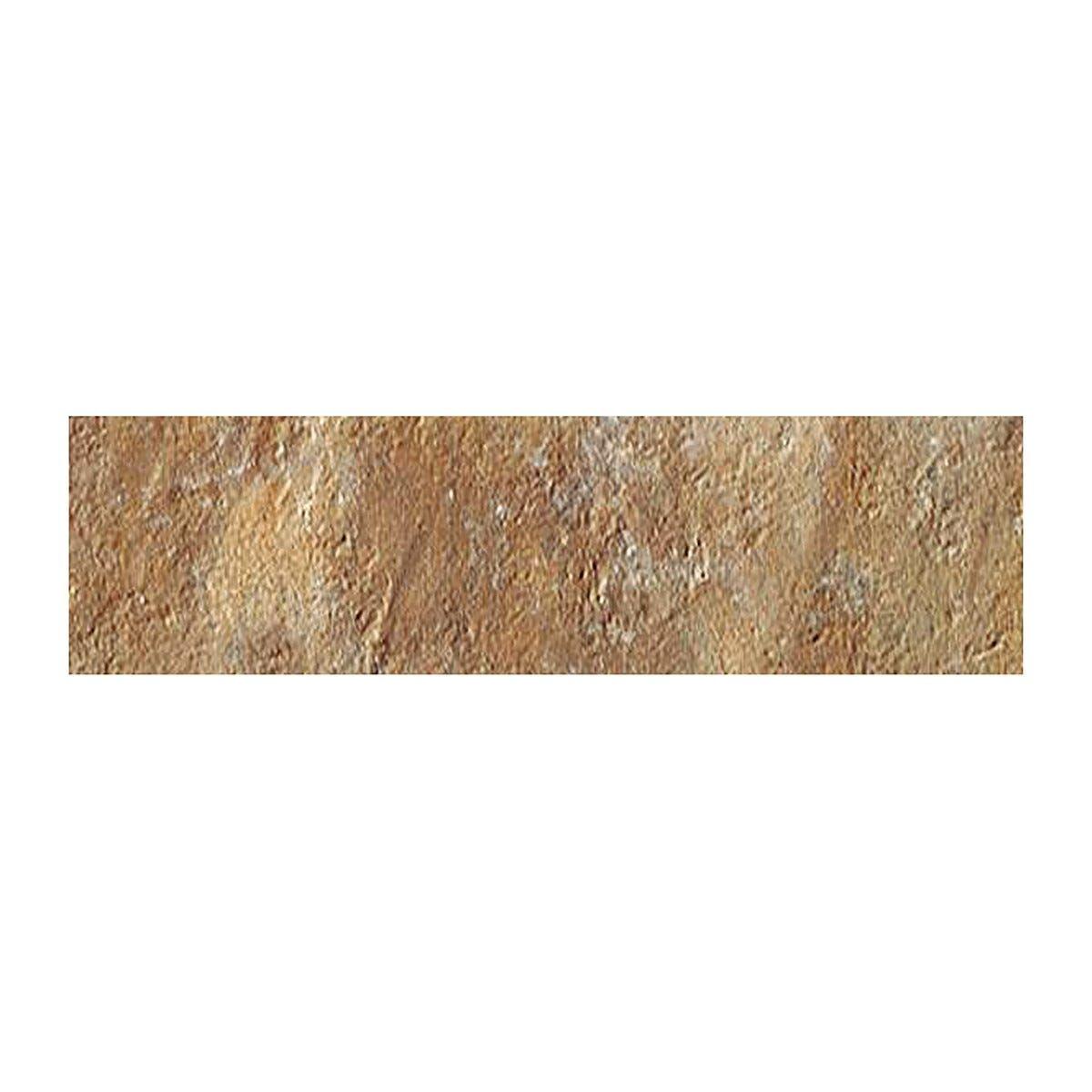 spray _dry mattoncino antico casale ocra 6x25x0,9 cm pei 5 r10 gres porcellanato