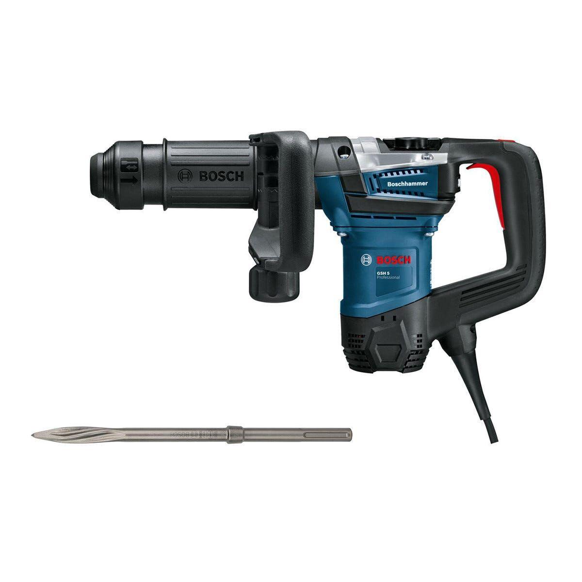 Bosch Demolitore 1100 W Gsh 5 7,5 J Professional 2850 Colpi/min Peso 5,6 Kg