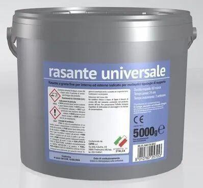 CIPIR Rasante Universale In Polvere Secchiello 5 Kg Grigio Grana Fine Interno Esterno