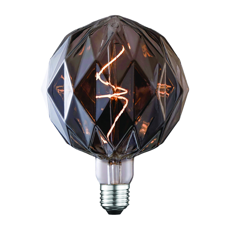 Lampadina Led Suprema Diamond E27 4w=9w 70 Lumen 2200k Luce Calda Finitura Fume'