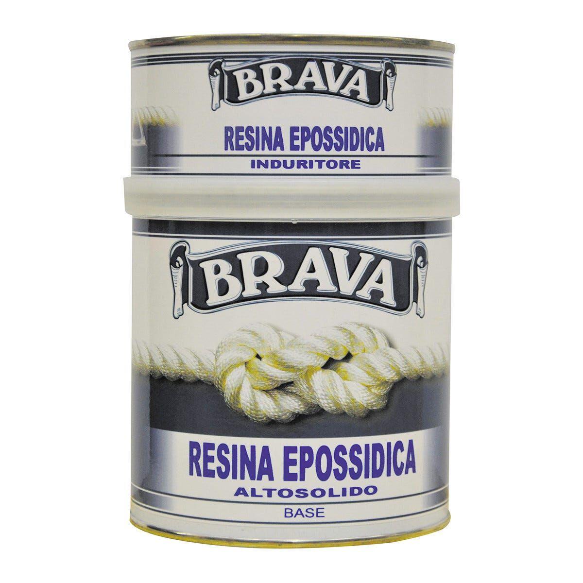 BRAVA Resina Epossidica 750 Ml Multiuso 12 M² Con 1 L Da Diluire