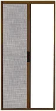 Zanzariera A Rullo Bronzo Con Chiusura Magnetica 160x250 (Lxh)