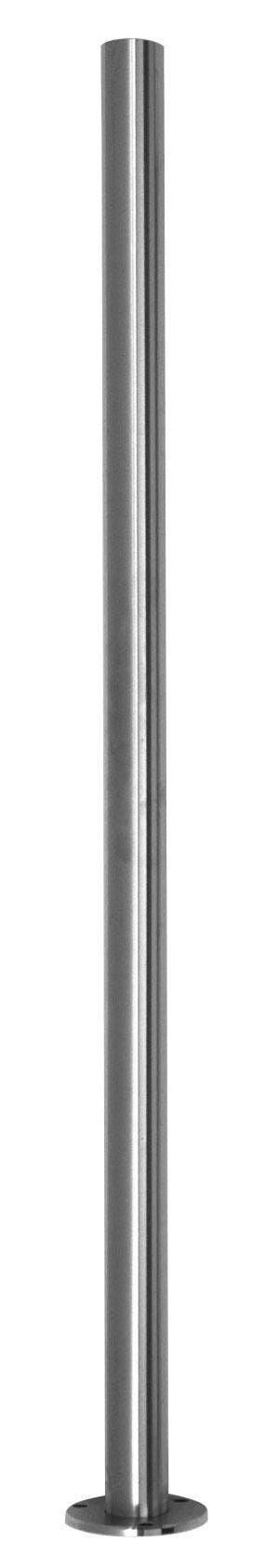 pro_metal_design montante a piastra inox aisi 316 Ø 42,4x2x1000 mm per ringhiere