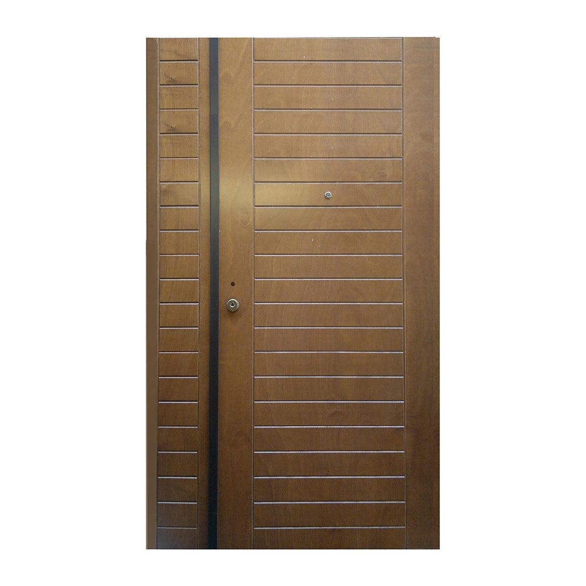 Porta Blindata Hammer Doppia Anta Apertura Spinta A Sinistra 210x90/30 Cm (Hxl) Classe 3