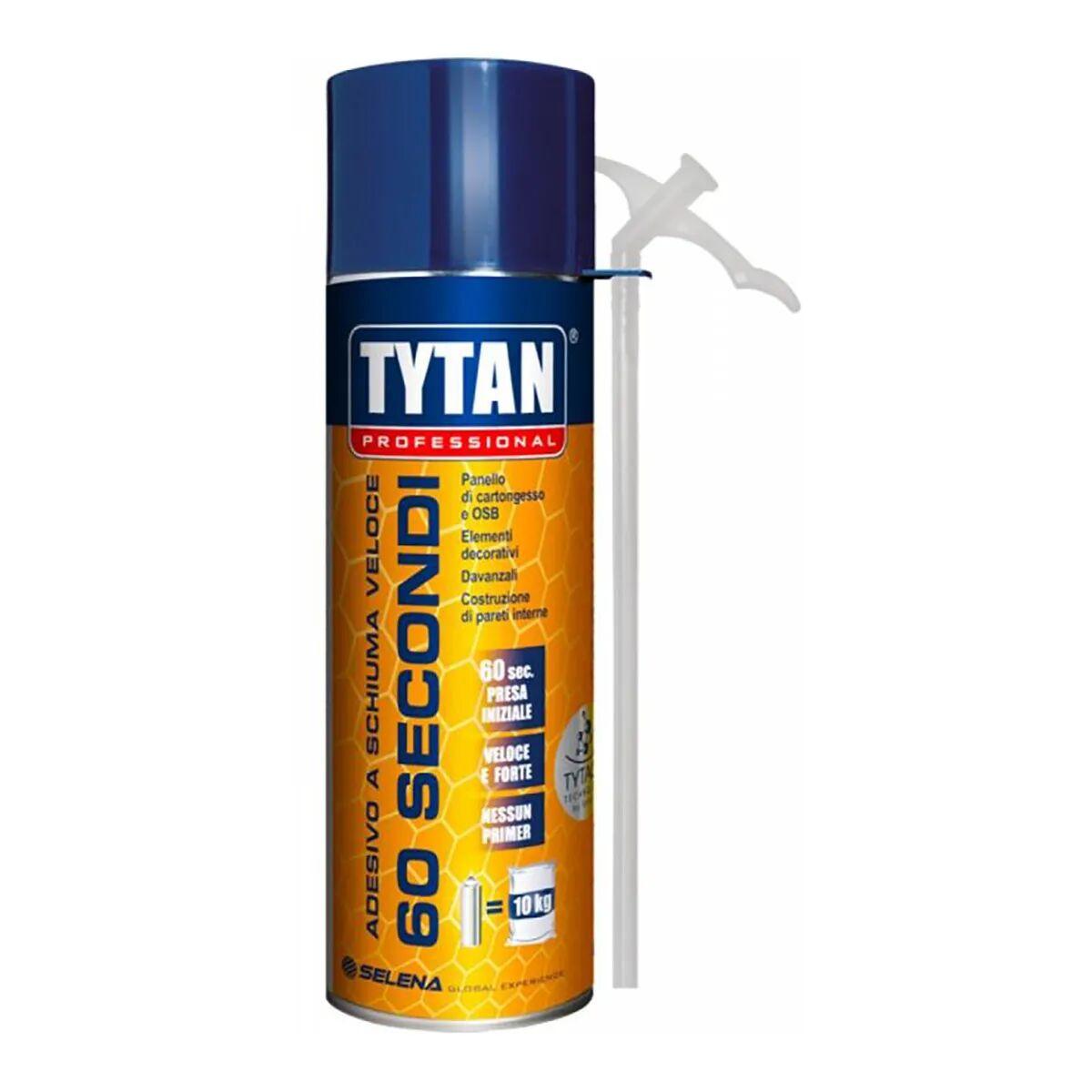 Adesivo A Schiuma Veloce Tytan 300ml 60 Secondi Manuale Per Pannelli Osb E Cartongesso
