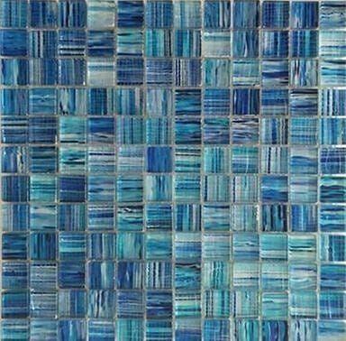 Mosaico Iseo Vetro Fuso Con Stampa Digitale Ad Alta Tem Foglio 30x30x0,8 Cm