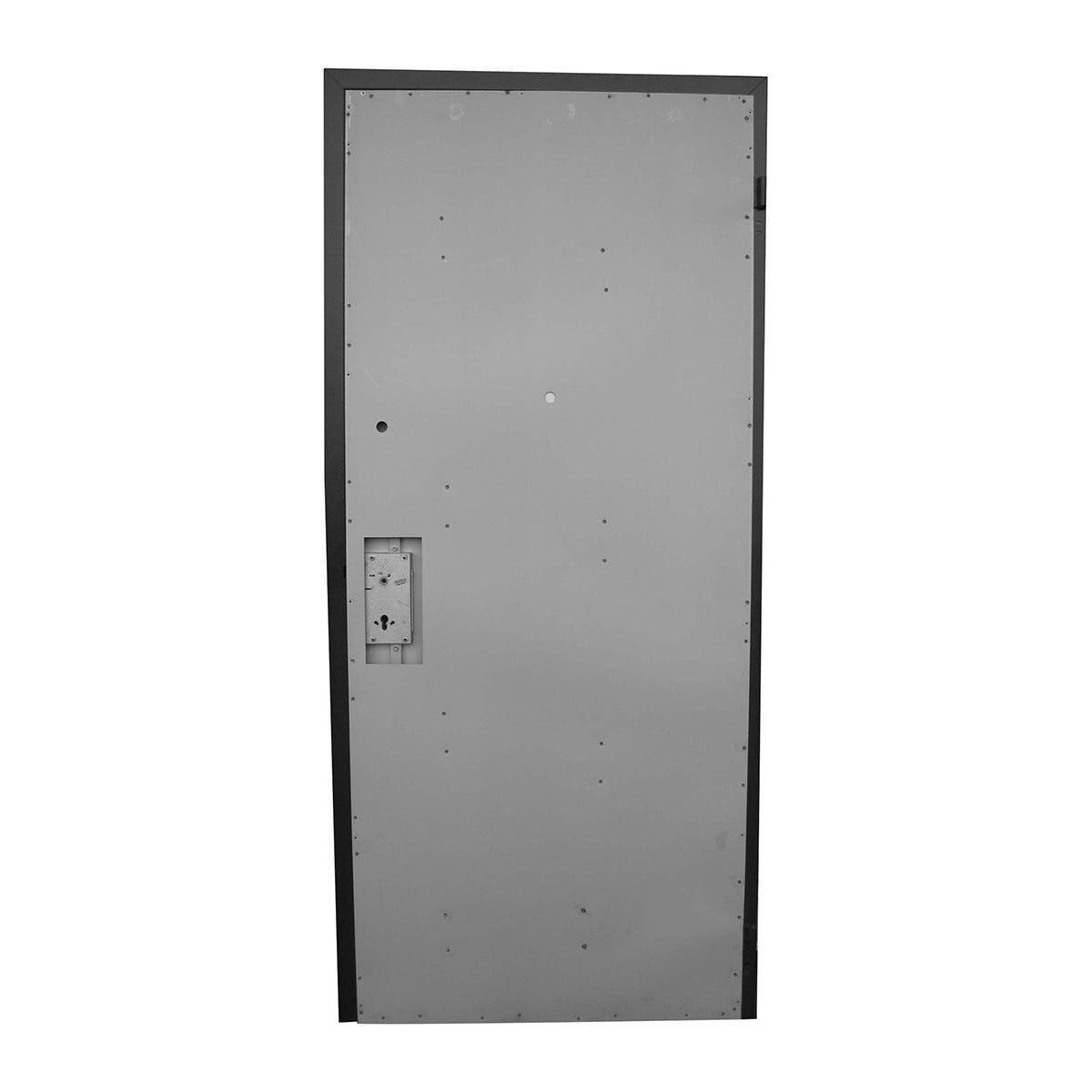 Porta Blindata Naked Eco Pro Apertura Spinta A Destra 210x90 Cm (Hxl)