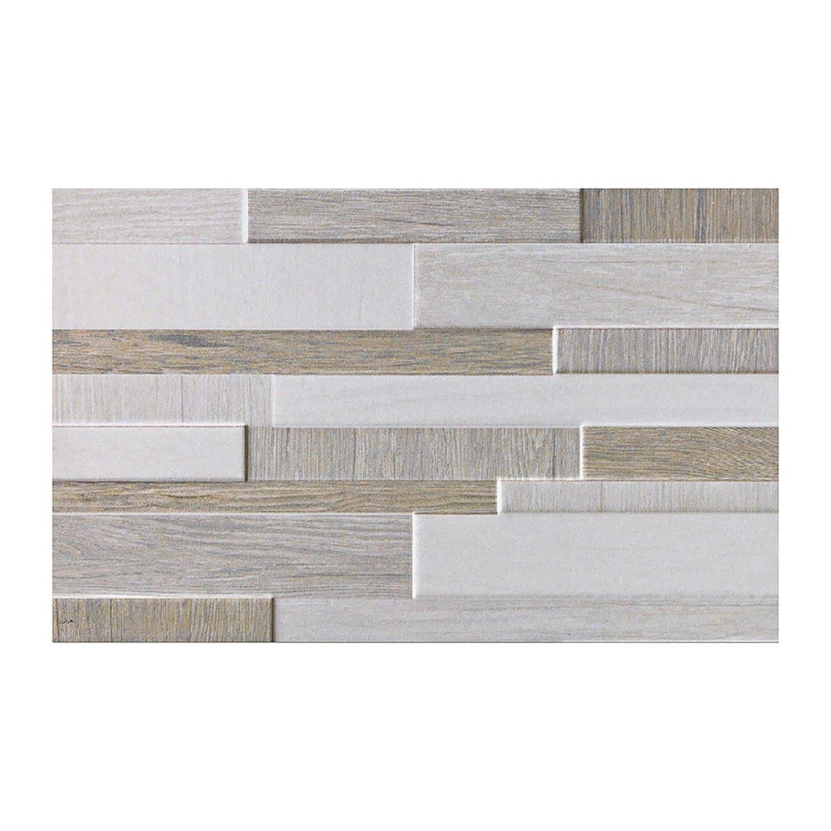CERAMICHE_MOMA Rivestimento Cucina Brick Wall Grigio 25x40x0,7 Cm Bicottura