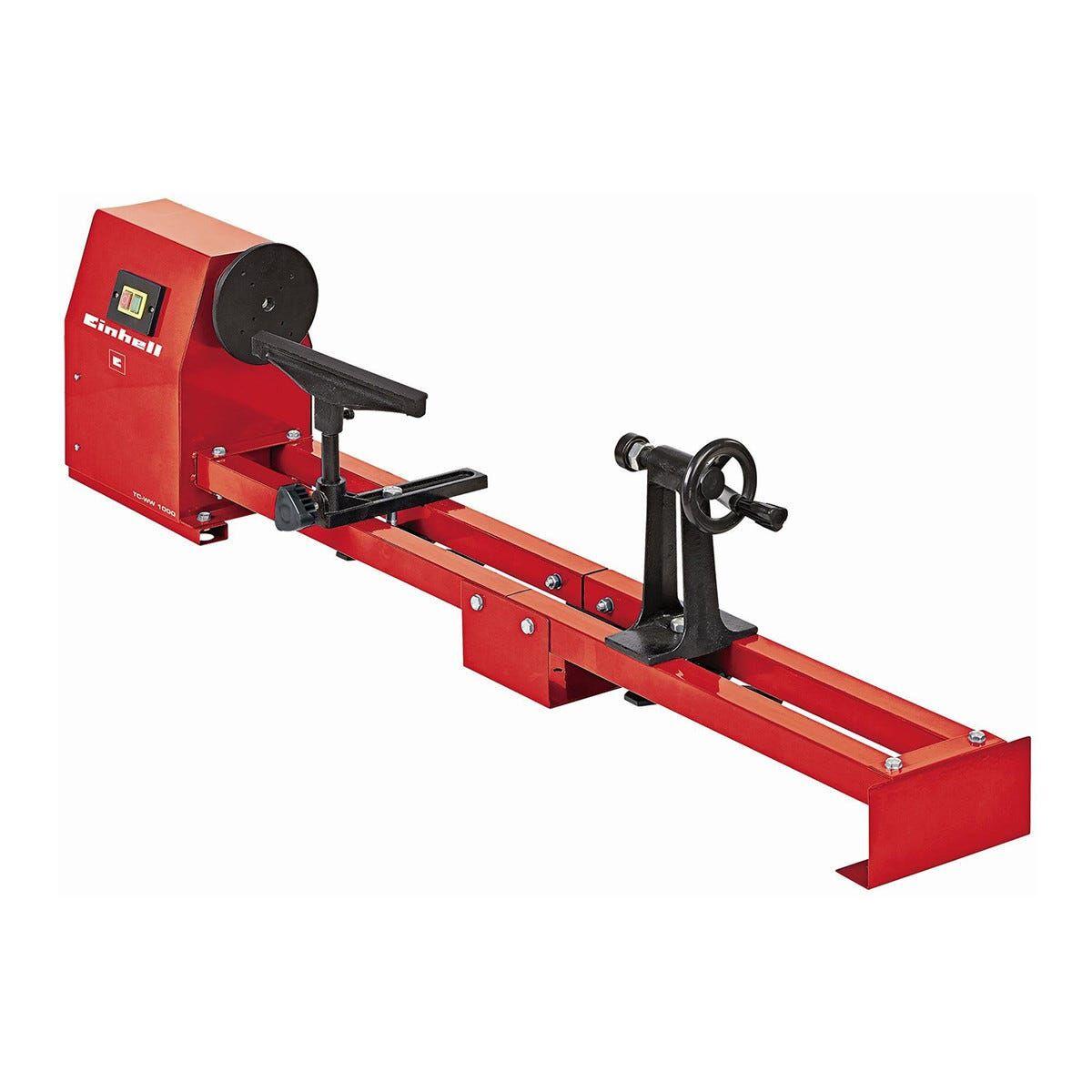 einhell_italia tornio legno 400 w tornitura 280/1000 mm peso 20,5 kg