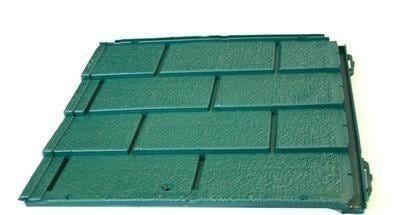 Tegola Tipo Canada Pvc Verde 1,25 M²