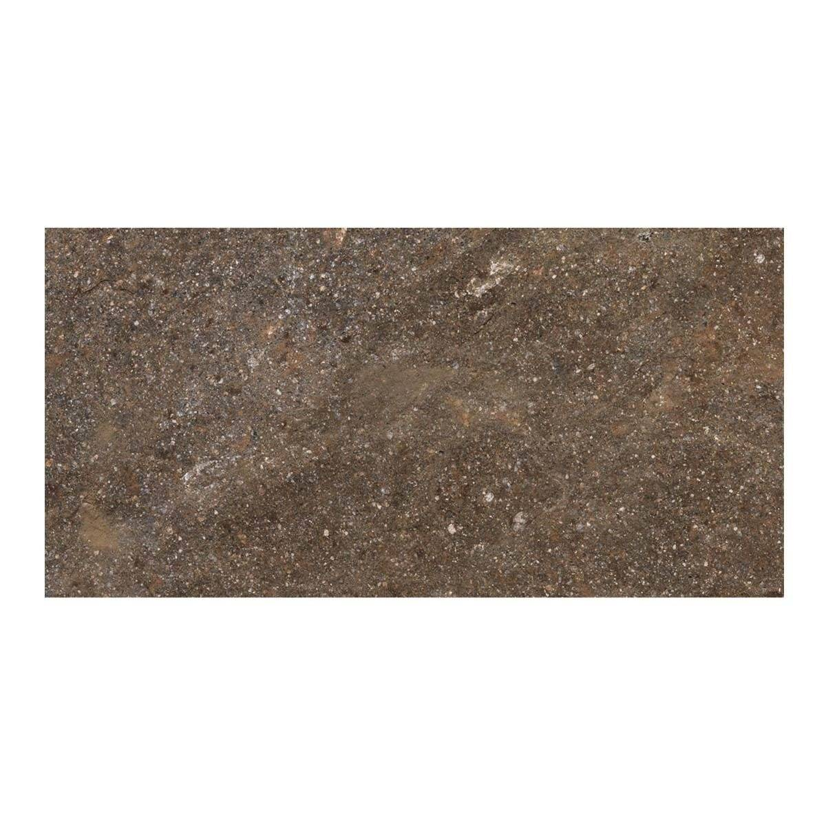 Pavimento Esterno Porfido Multicolor 20x40x0,85 Cm R10 Gres Porcellanato