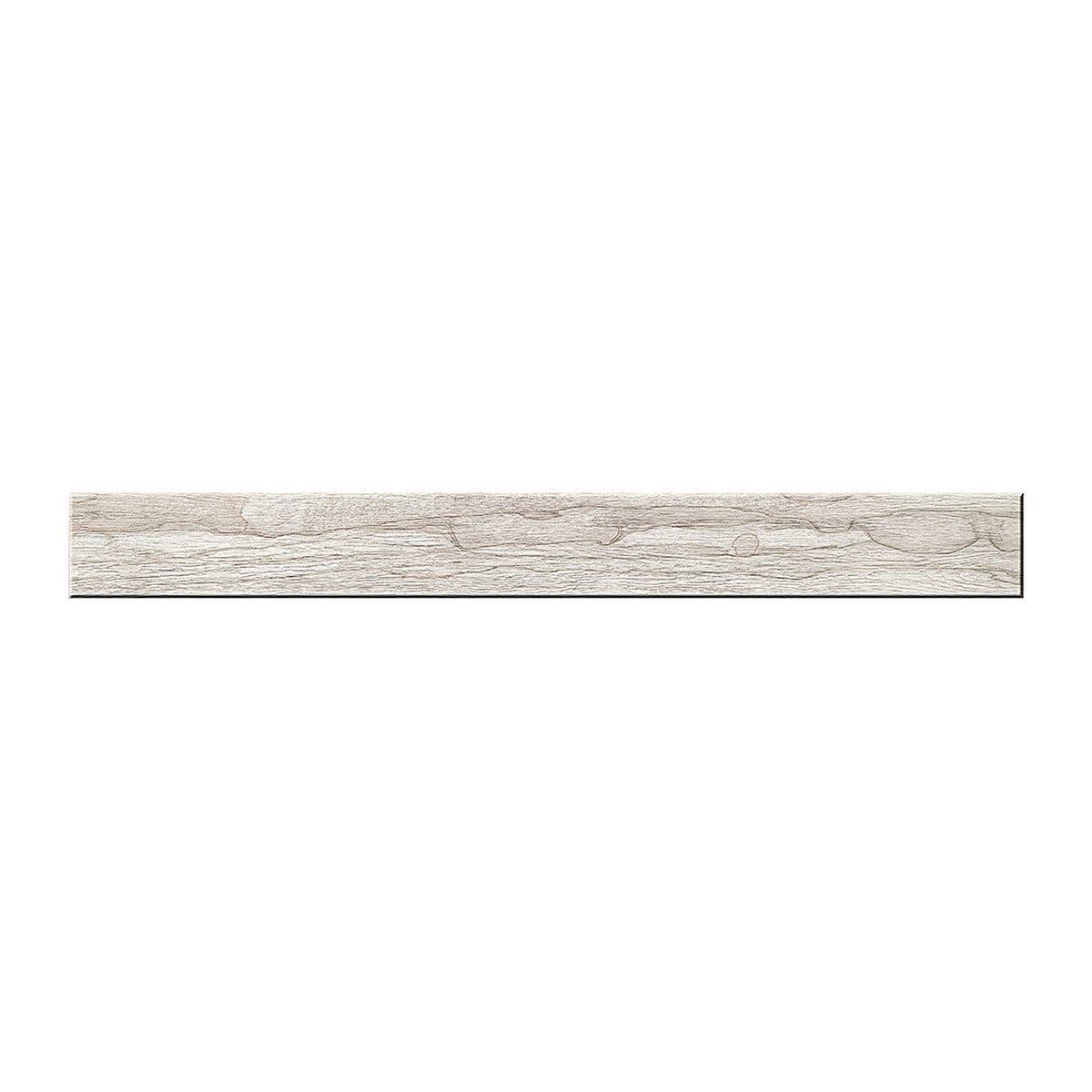 Pavimento Interno Legno Rettificato Bianco 20x120x1,05 Cm Pei 4 R10 Gres Porcellanato