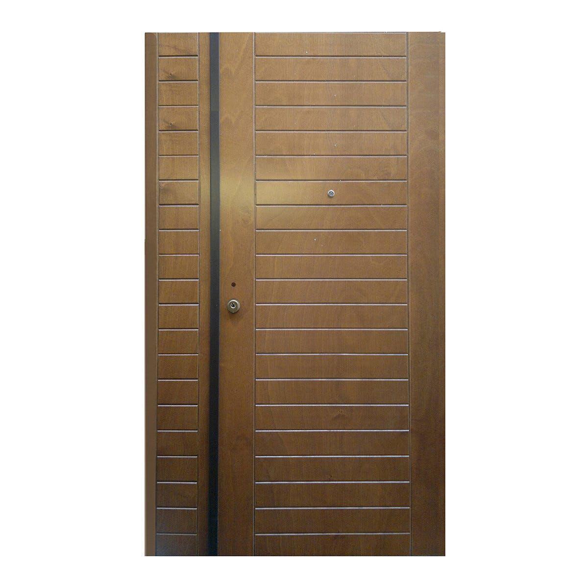 Porta Blindata Hammer Doppia Anta Apertura Spinta A Destra 210x90/30 Cm (Hxl) Classe 3