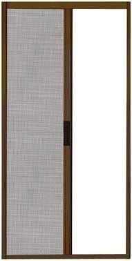 zanzariera a rullo bianca ral 9010 con chiusura magnetica 160x250 cm (lxh)