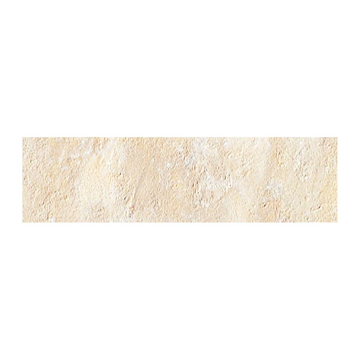 spray _dry mattoncino antico casale bianco 6x25x0,9 cm pei 5 r10 gres porcellanato