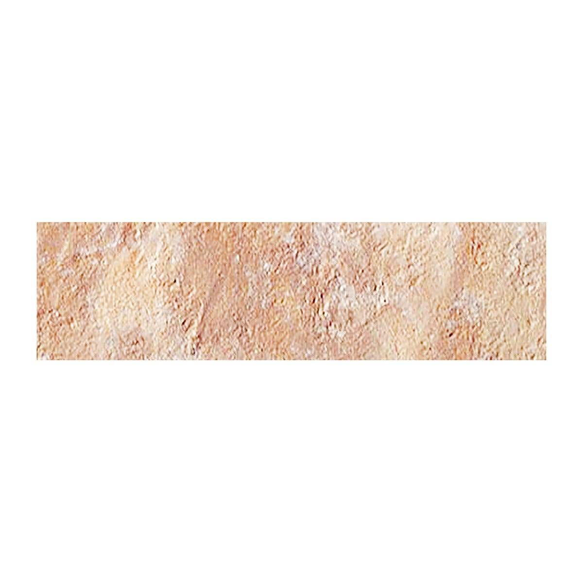 spray _dry mattoncino antico casale rosato 6x25x0,9 cm pei 5 r10 gres porcellanato