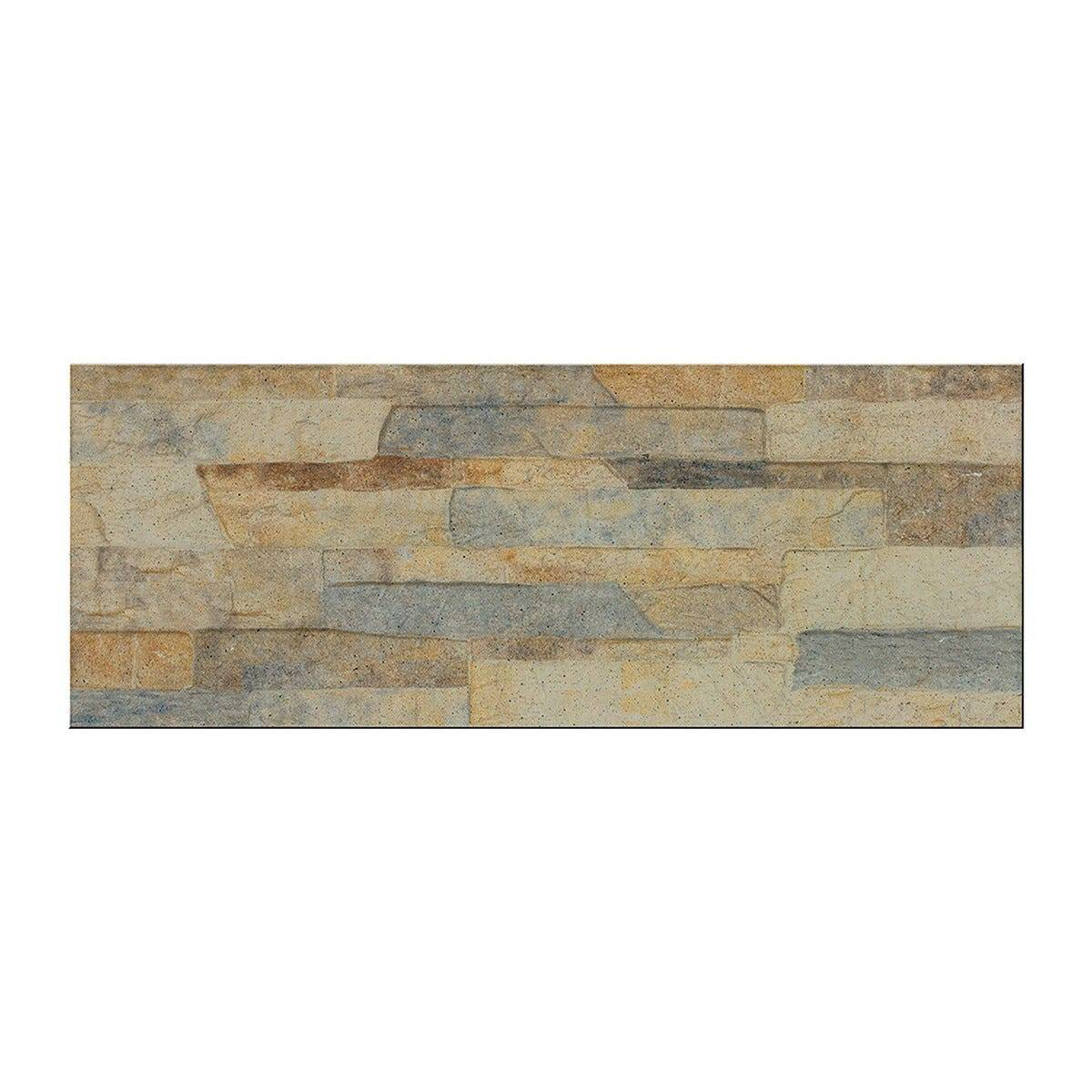 Oregon Placchetta Oregon Beige 7,5x38,5x0,9 Cm Pei 4 R10 Gres Porcellanato
