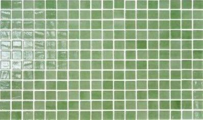 Mosaico Verde 31x31 Cm Tessere Da 2,5x2,5 Cm Pasta Di Vetro