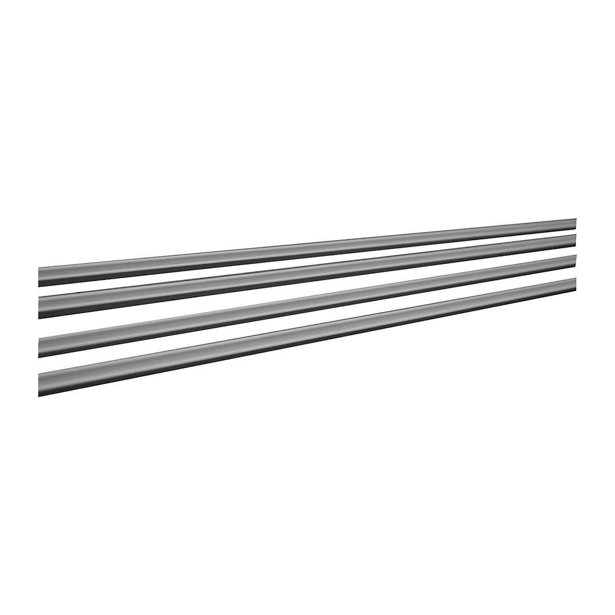 terno_scorrevoli binari abbinati per guarnitura ante 20 kg pvc bianco