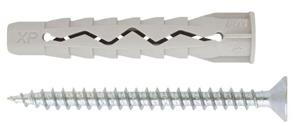 FRIULSIDER Tasselli Nylon  Ø 10x65 Mm 4 Pezzi Con Vite Truciolare