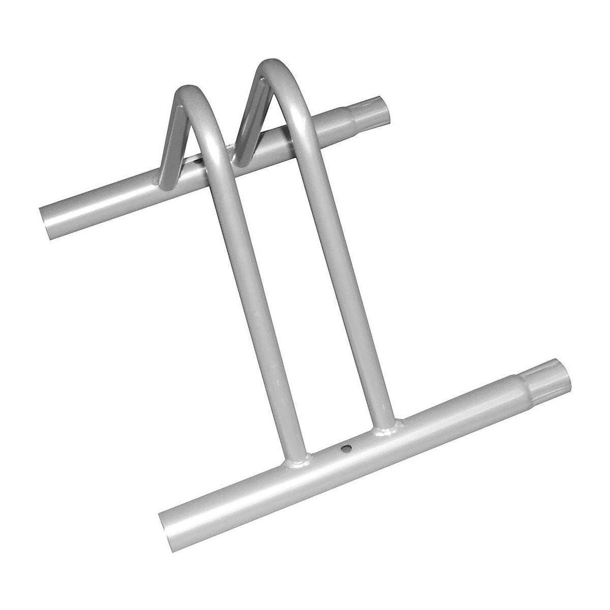 portabici a pavimento componibile 310x370 mm acciaio