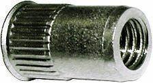RIVIT Inserti Filettati Fusto Cilindrico 7mm 0,5-2,0mm M5 500pezzi Inox A2 Testa Ridotta