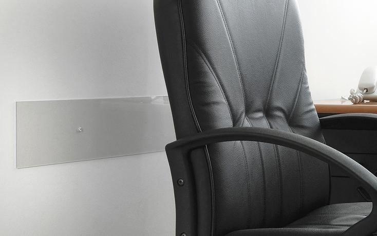 Battisedia Vetro Sintetico Trasparente 2000x120 Mm (Hxl) Sp 2 Mm