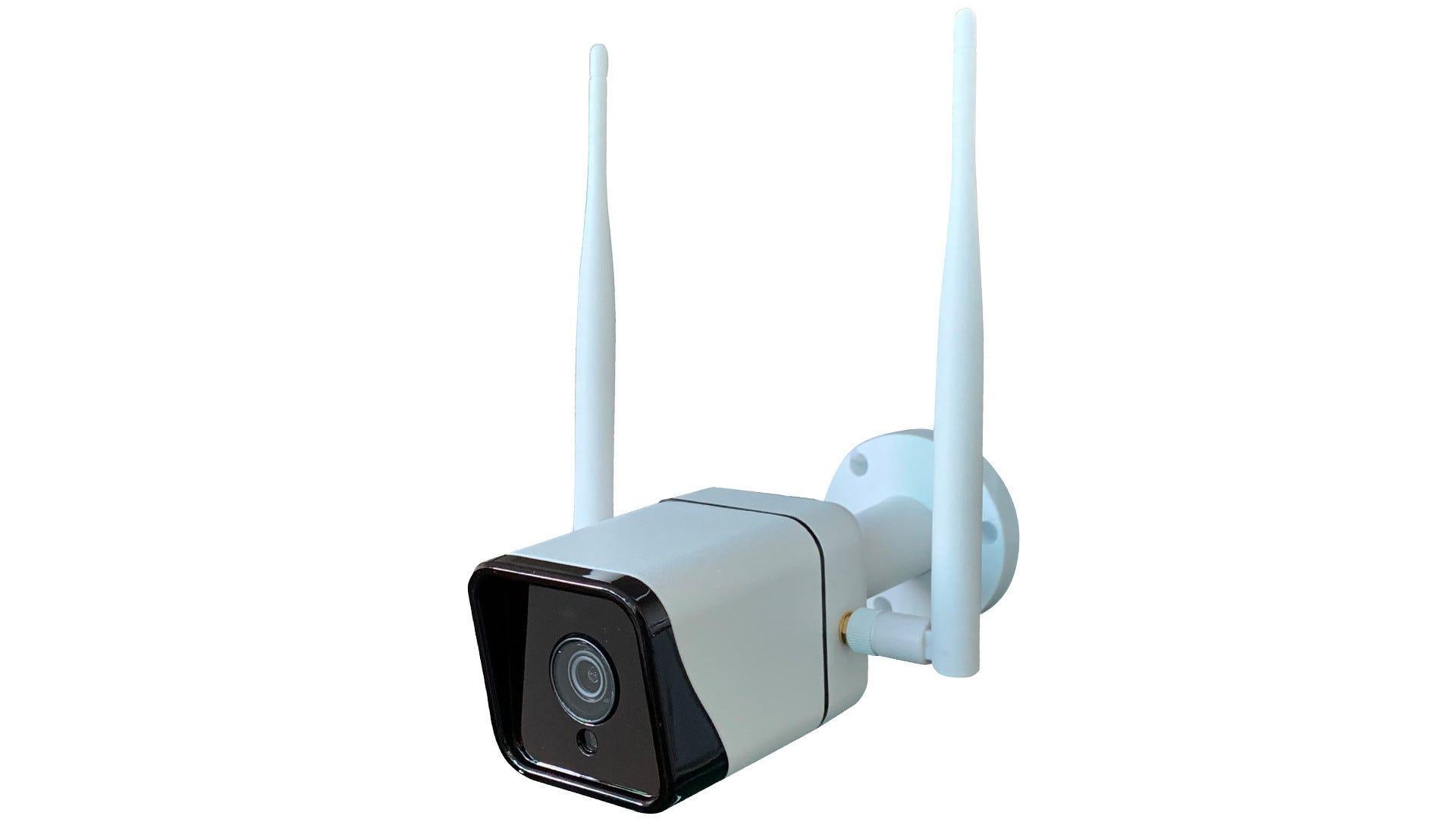 PROXE Telecamera Bullet Da Esterno 2 Mpx 4g/wi-Fi/ip Sensore 1/3'' Cmos 12 Led Ir