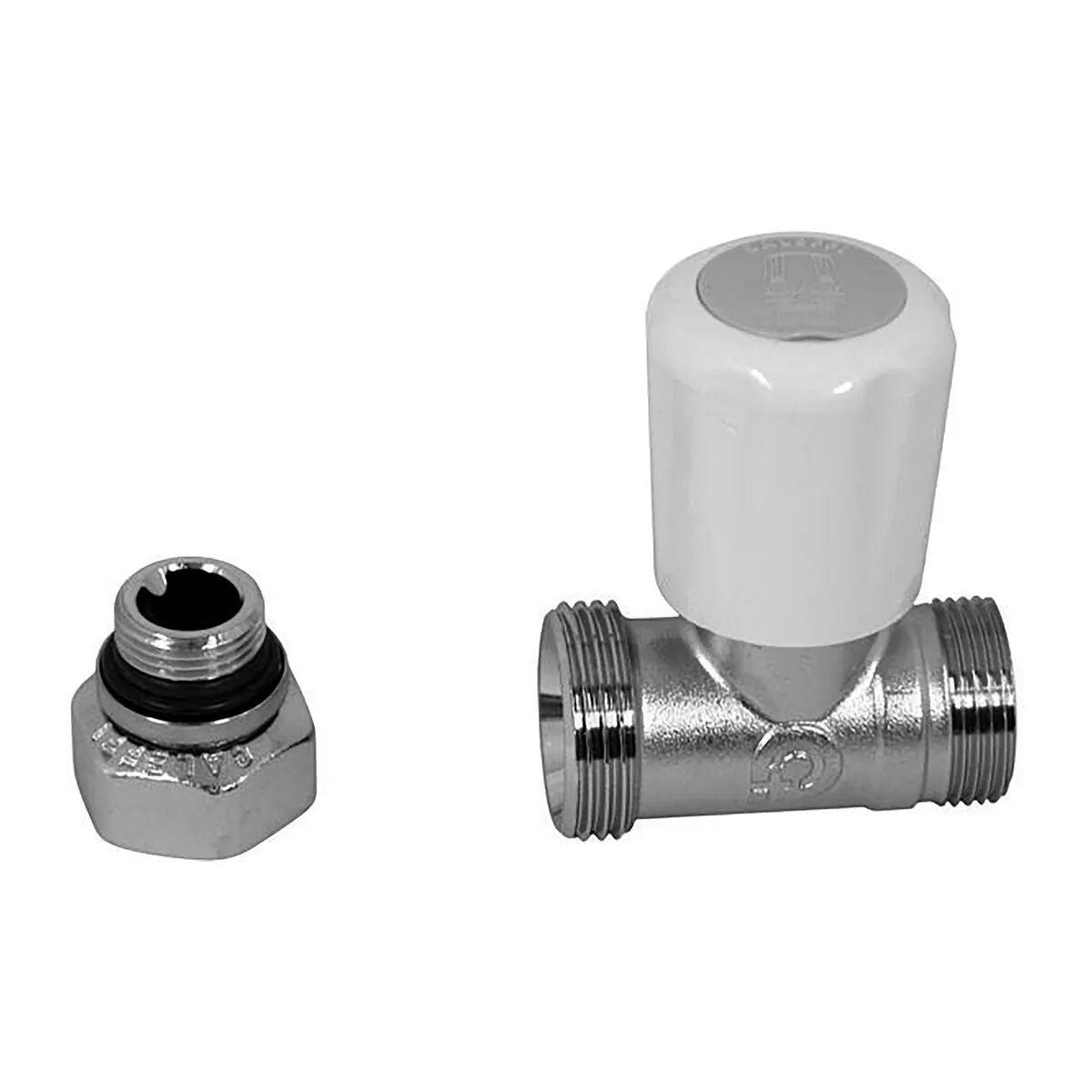 Valvola Termostatizzabile Caleffi Dritta 1/2'' 339402 Tubo Rame / Pex / Multistrato