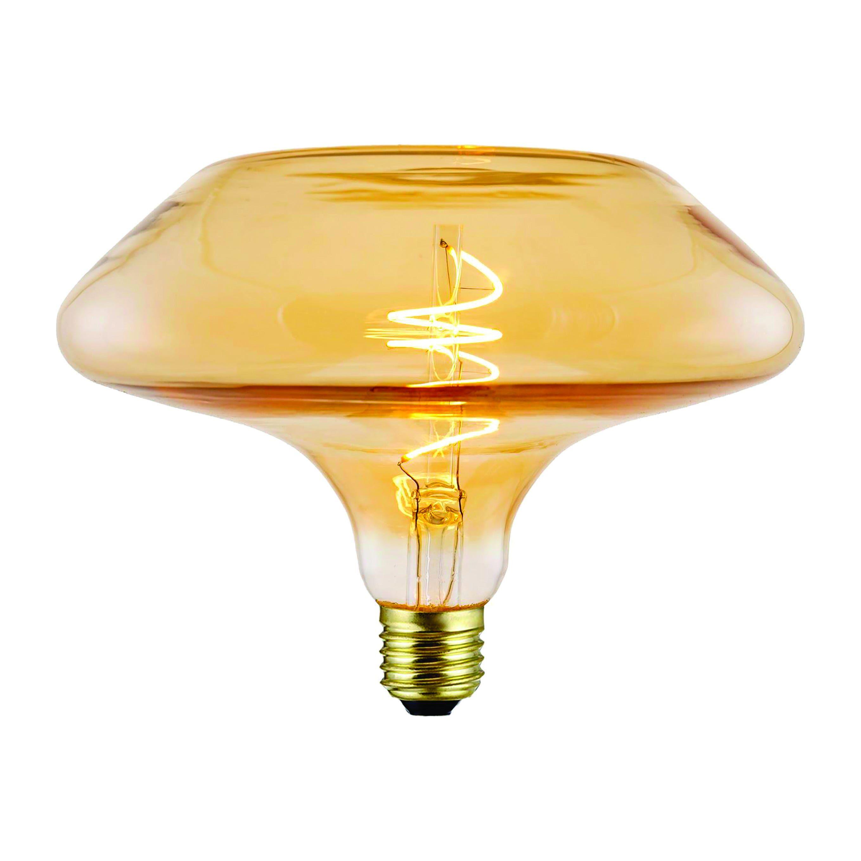 suprema lampadina led  decanter e27 4w=20w 190 lumen 2200k luce calda ambrata