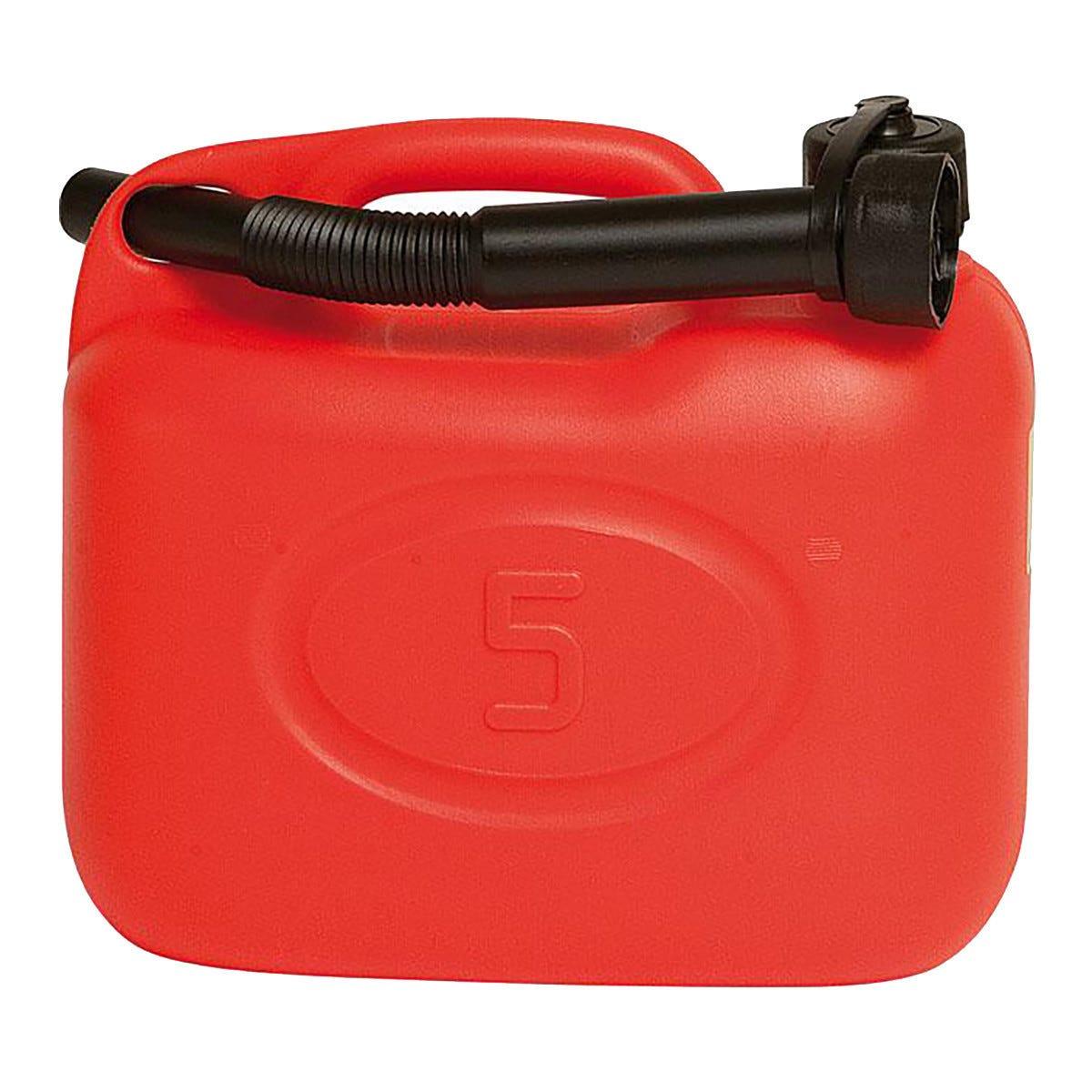 Tanica 5 L Per Carburanti E Oli Con Beccuccio