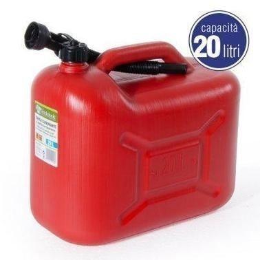 Tanica 20 L Per Carburanti E Oli Con Beccuccio