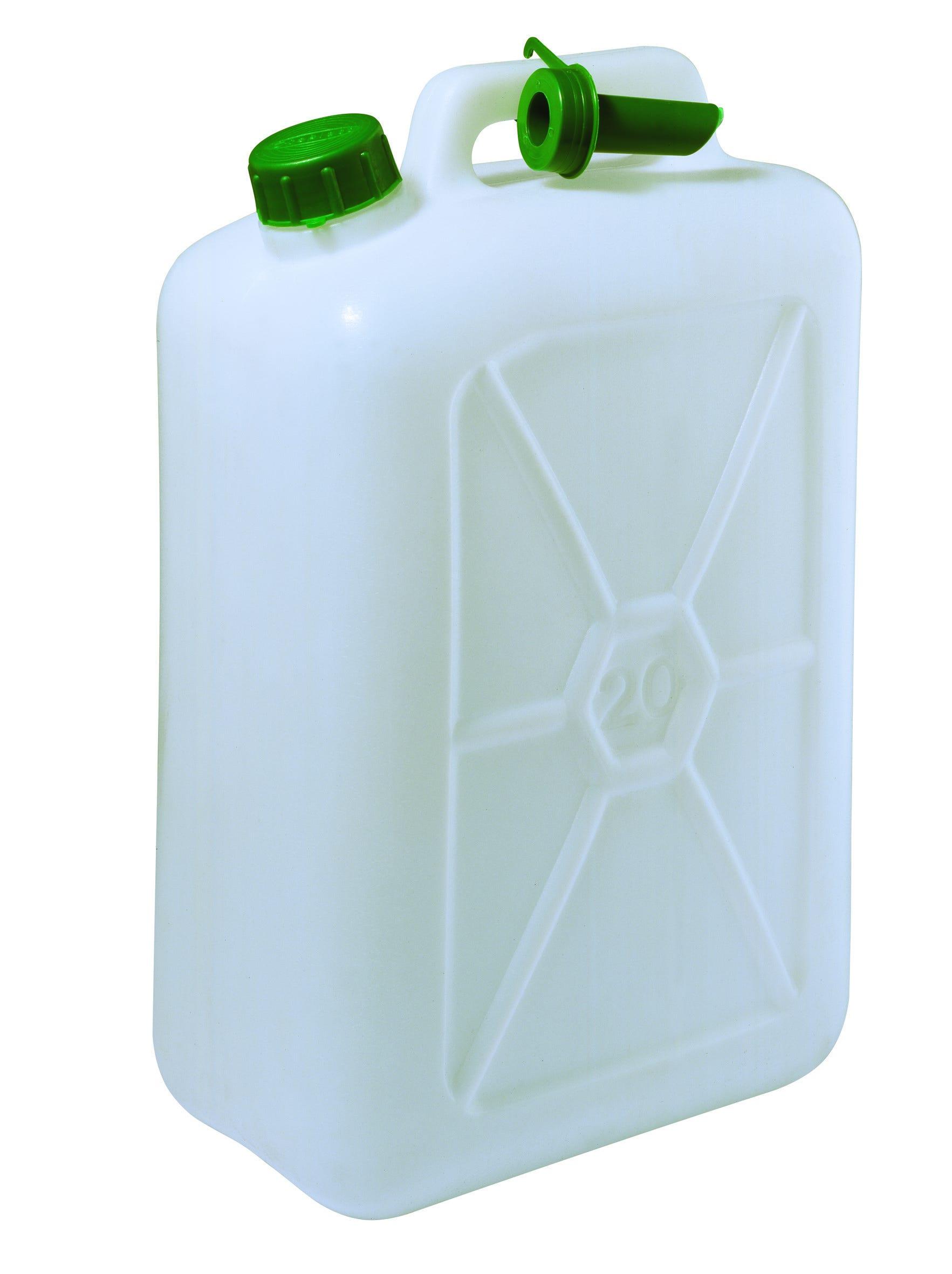 ECOPLAST Tanica Ad Uso Alimentare 28,4x47x18,4 Cm (Lxhxp) 20 L Plastica