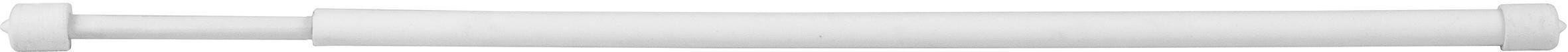 Astine A Molla Riducibili 40-30 Cm Ø 8 Mm Plastificato Bianco 2 Pezzi