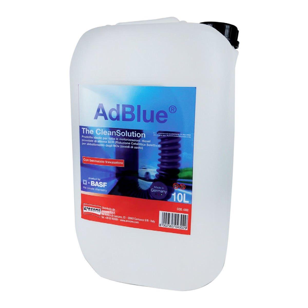 AREXONS Liquido Ad Blue 10 L  Con Beccuccio
