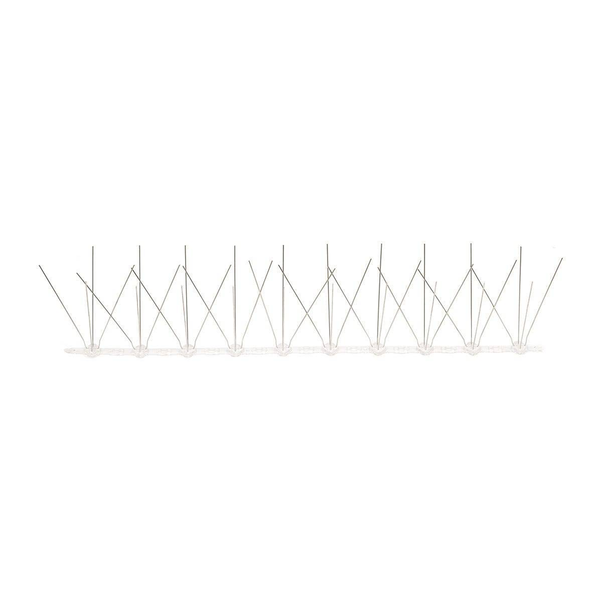 roofy dissuasori per volatili rigido policarbonato 40 punte 50 cm