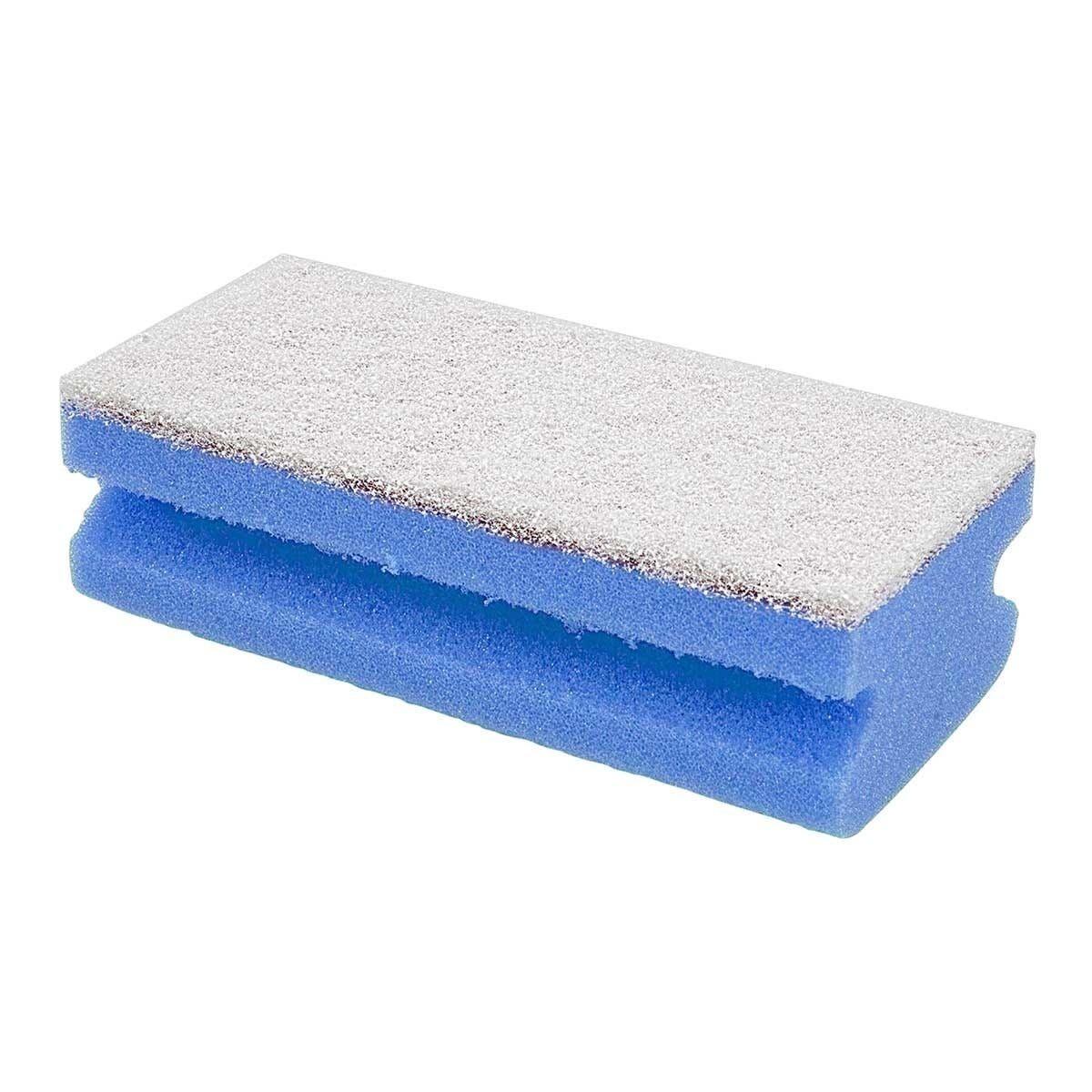 10 Spugne Abrasive Professional Blu Salvamani