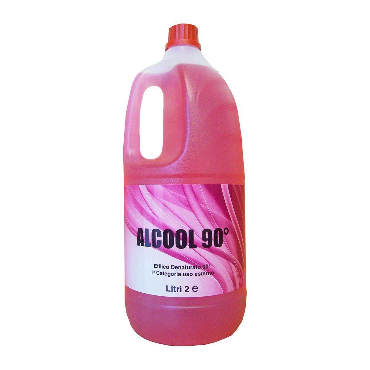 Alcool Etilico 90° Denaturato 2 L
