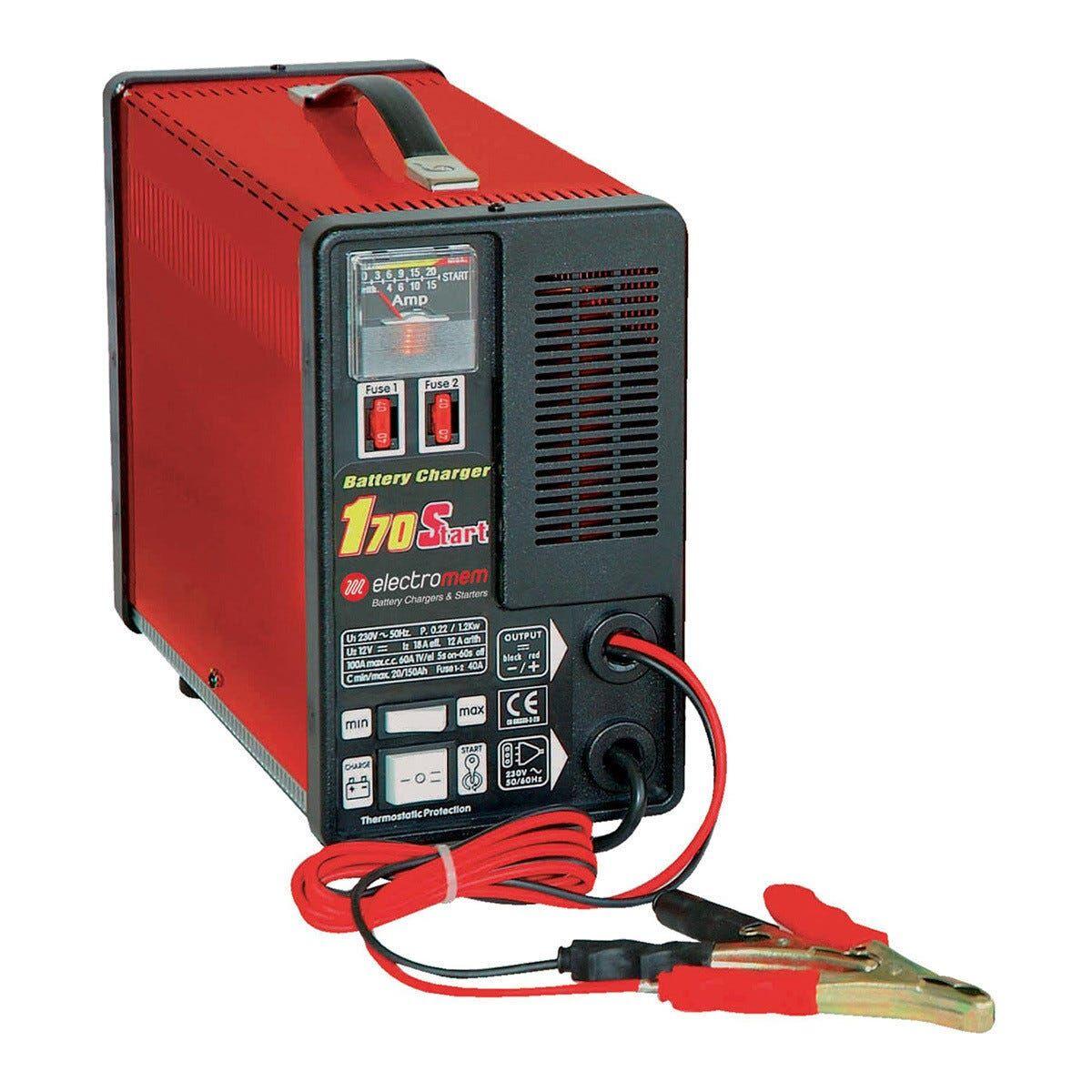 caricabatterie manuale con avviamento 12 v corrente carica 20 a auto e veicoli commerciali