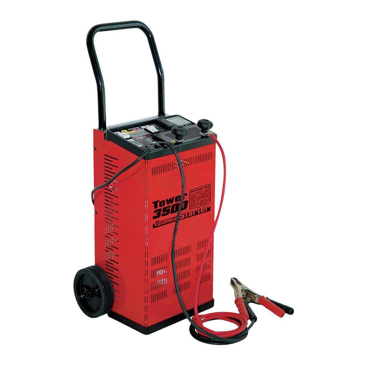 caricabatterie manuale con avviamento 12/24 v corrente carica 45a per auto furgoni ruspe