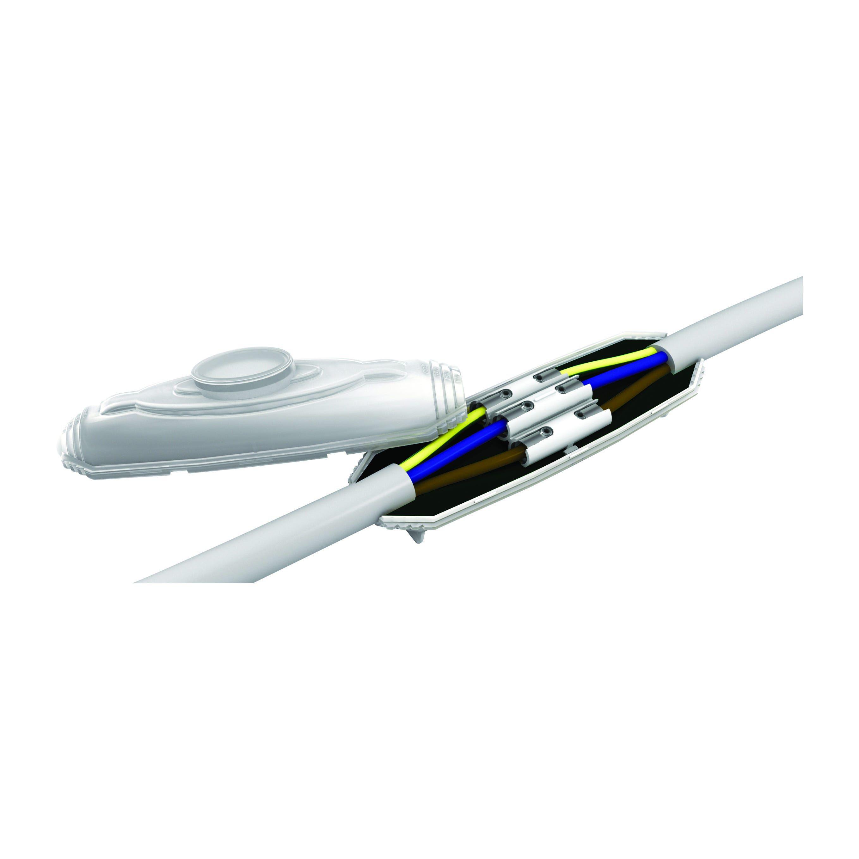 etelec muffola in linea sub0 5p sezione 1,5-6 mmq per pompe sommerse bassa sensione 0,6-1 kv