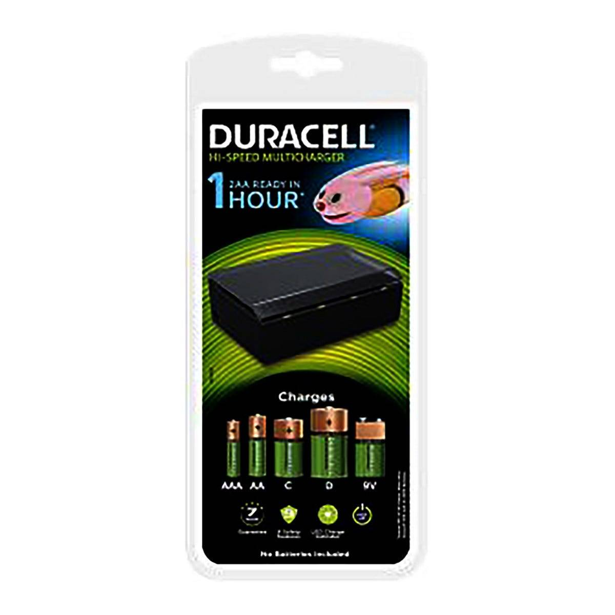 PROXE Caricabatteria Duracell Per Batterie Ricaricabili Tipo Aa/aaa Completo Di 4 Batterie 230v