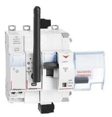 BTicino Salvavita Bticino Wifi 4 Moduli 230v Da Accoppiare A Differenziali Magnetotermici