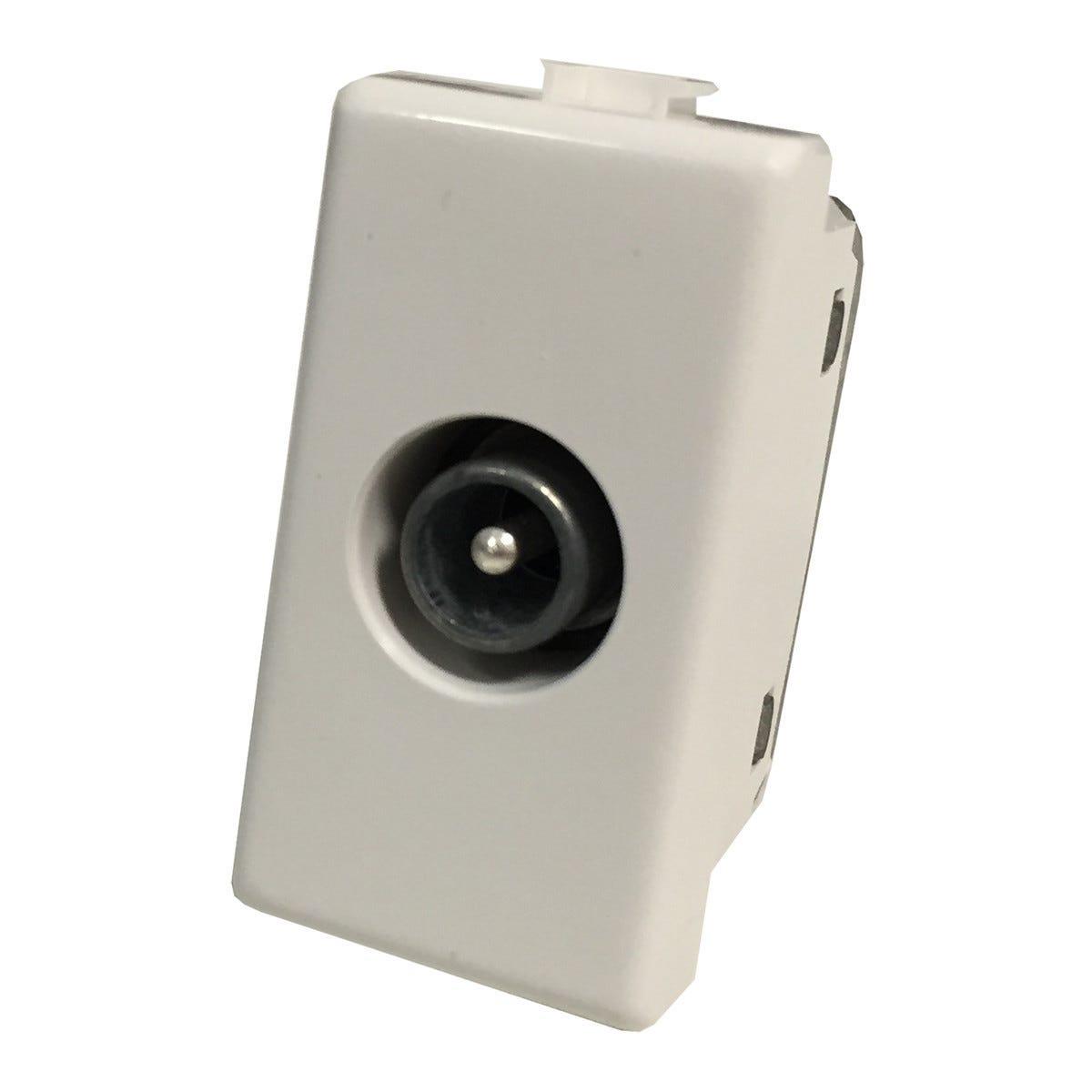 Presa Tv Passante -4db Compatibile Con Bticino Matix