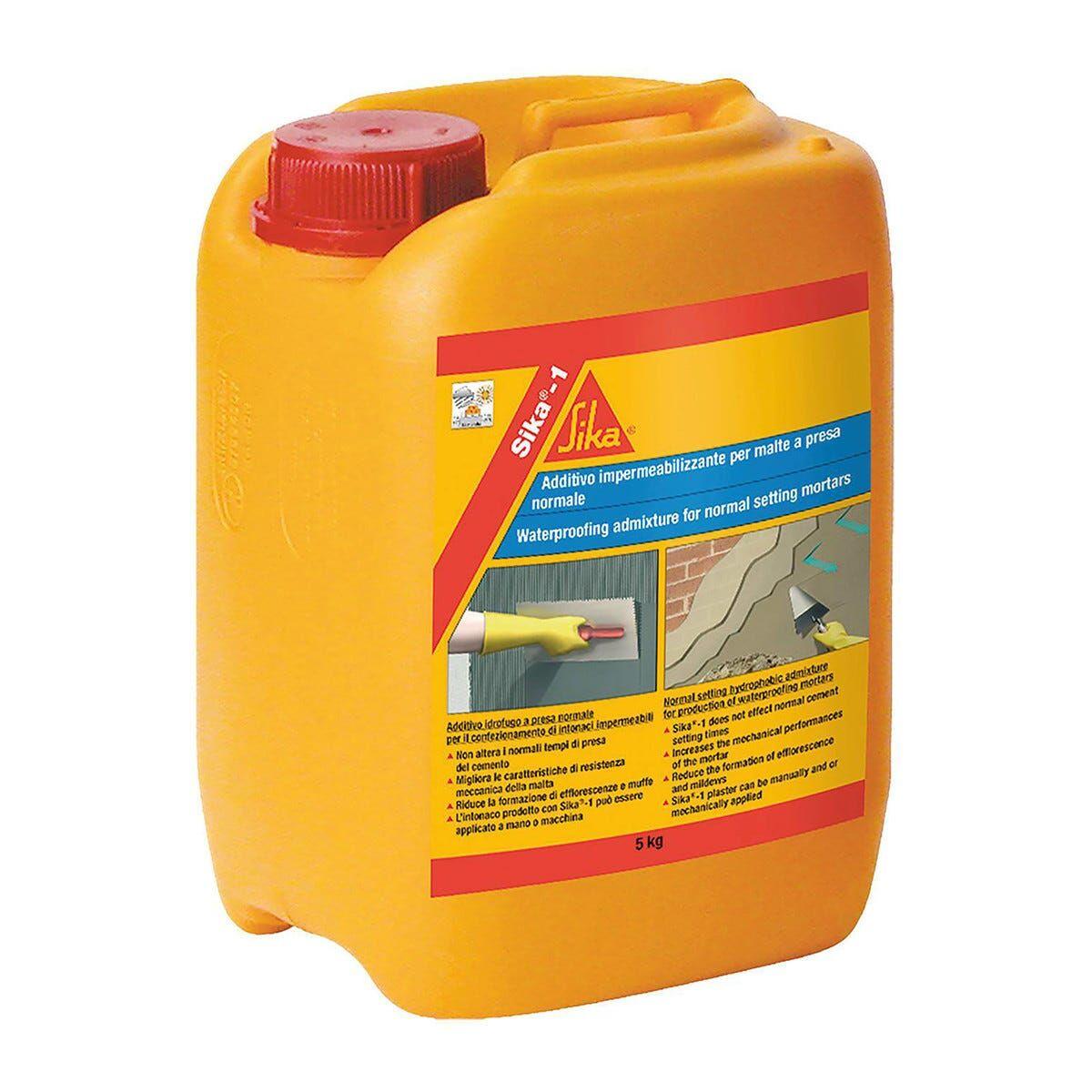 SIKA Additivo Impermeabilizzante -1 5 L Per Cemento