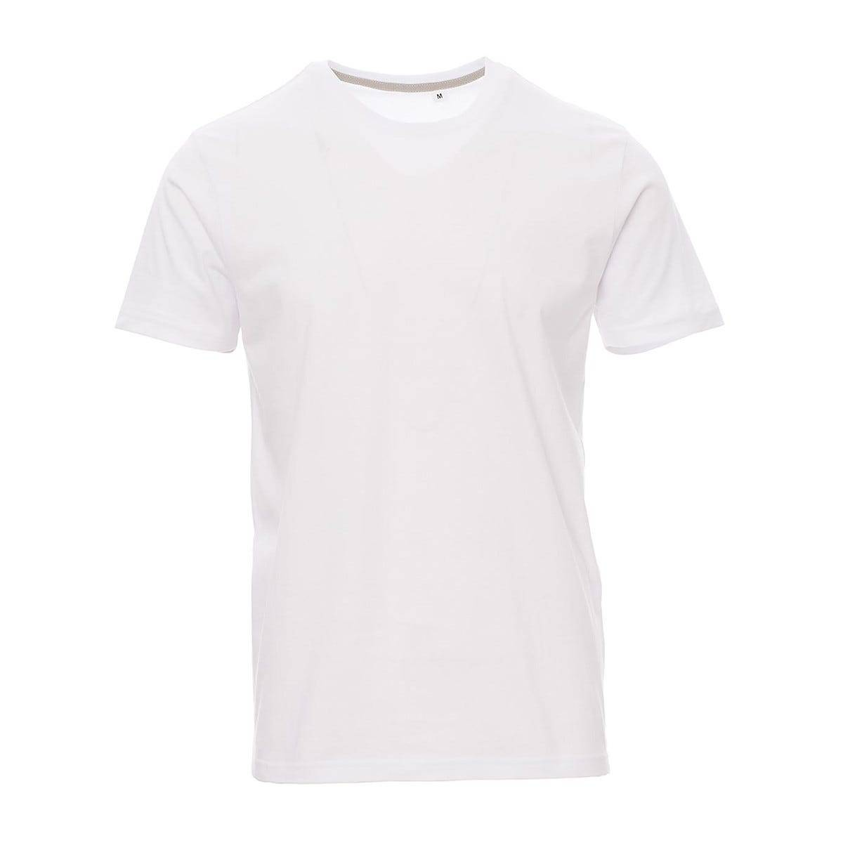 5 T Shirt Manica Corta Taglia Xl Bianco 100% Cotone