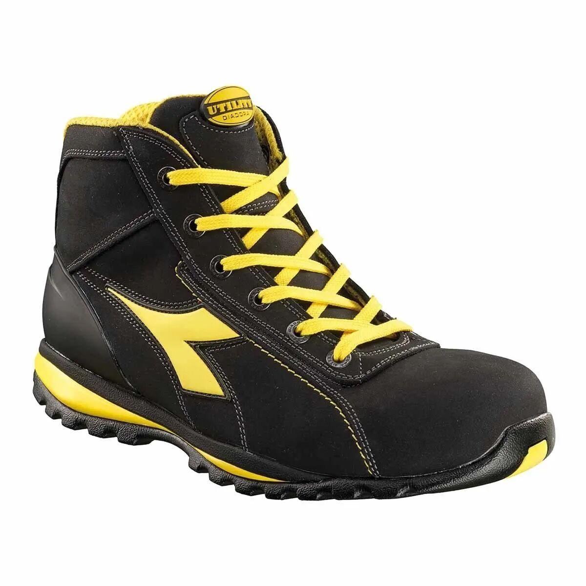diadora scarpa antinfortunistica 45  glove ii alta classe s3 sra hro nera