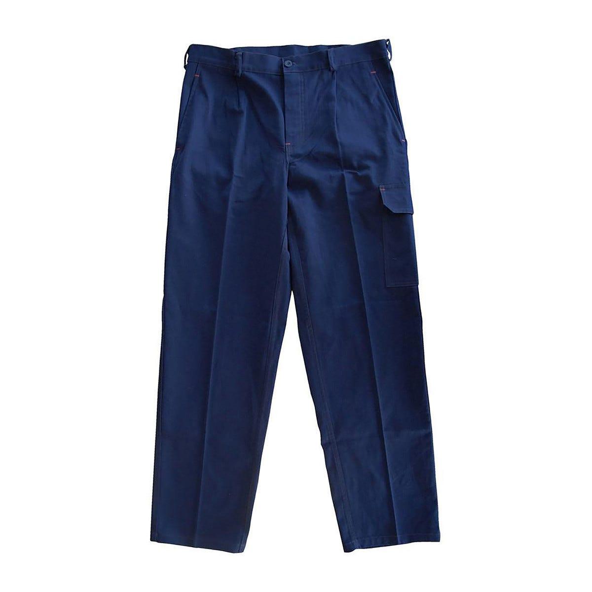 Pantalone Super Taglia 46 Colore Blu