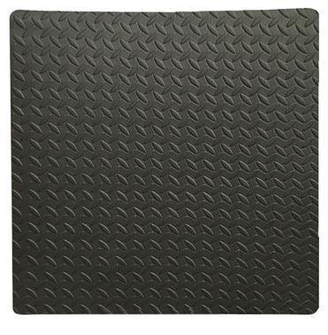 Tappetino In Gommapiuma Antiurto 600x600x10 Mm Multiuso Antracite