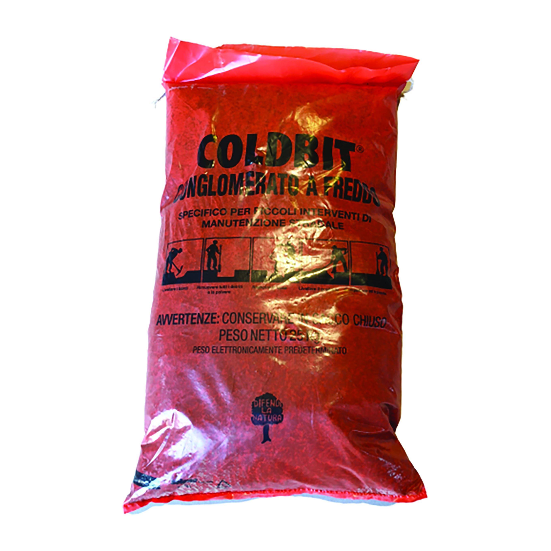 Asfalto A Freddo Coldbit Sacco 25 Kg